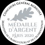 Palmarès 2020 - Millésimes 2019 | LE CELLIER DES 3 COLLINES - Médaille d'argent Concours Général Agricole Foire de Paris