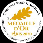 Palmarès 2020 - Millésimes 2019 | LE CELLIER DES 3 COLLINES - Médaille d'Or Concours Général Agricole Foire de Paris
