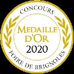 Palmarès 2020 - Millésimes 2019 | LE CELLIER DES 3 COLLINES - Médaille de Bronze Concours de la Foire de Brignoles
