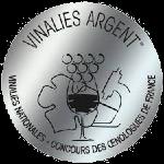 Palmarès 2021 - Millésimes 2020   LE CELLIER DES 3 COLLINES - Médaille d'Argent Concours Les Vinalies